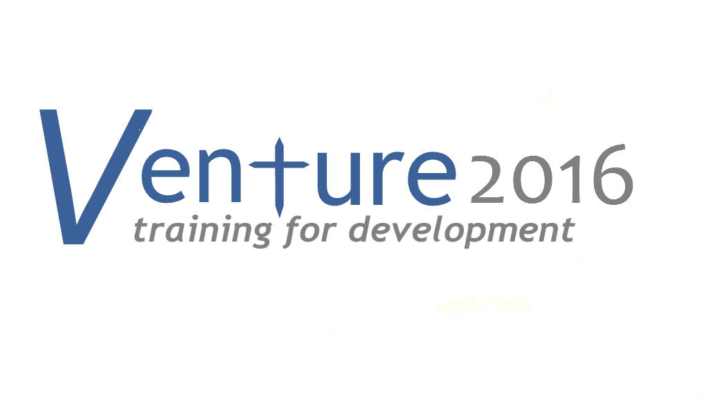 Venture – Training for Development (Autumn 2016)
